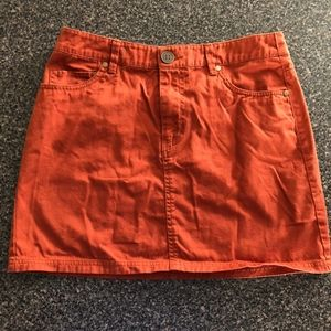 Dresses & Skirts - Burnt Orange Skirt (6)